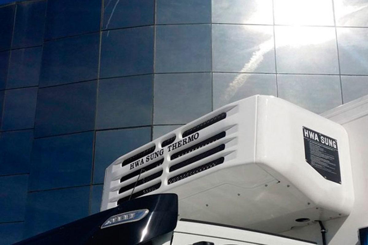 Asistencia técnica para equipos de frío en camiones